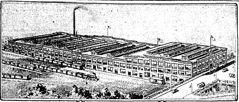 "Image included in article, ""Woodward Tiernan Printing Co. to Build New Plant on Tower Grove Avenue at Cost of $1,000,000"" (St. Louis Post-Dispatch, 26 June 1921)."