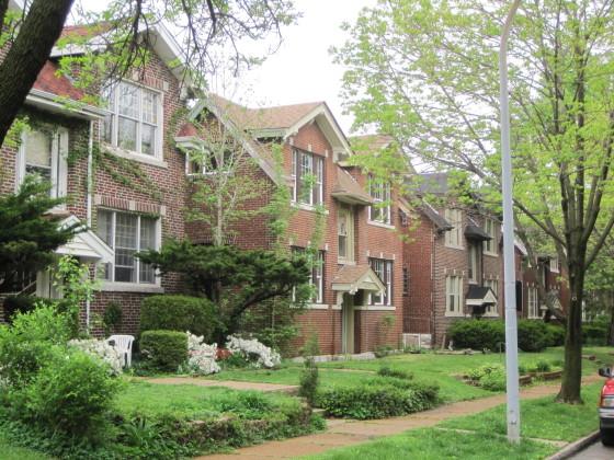 Multiple dwellings on Shenandoah Avenue.