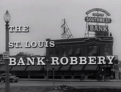 "One of the district's best-known buildings is the former Southwest Bank building at Vandeventer & Kingshighway, where a bank robbery in 1953 inspired the 1959 Steve McQueen vehicle ""The Great St. Louis Bank Robbery."""