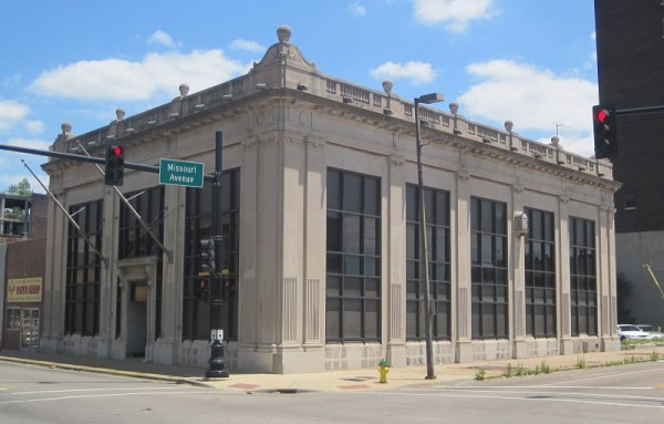 The historric Union Trust Company Bank Building in East St. Louis.